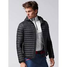 this quilted down jacket with water repellant mini ripstop structure is perfect for transitional weather but also gives extra warmth under your ski jacket