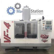 haas cnc milling machine. haas vf-4 vertical machining center 4th axis tsc gear head 20hp - vf4 cnc haas cnc milling machine