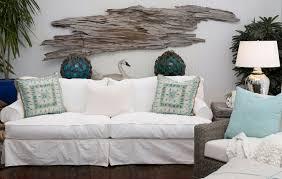 Driftwood Wall Art Driftwood Wall Hanging Slipcovered Sofa White Home  Design Ideas