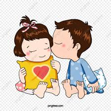 Cute Couple Png Cute Baby Couple Cute Clipart Baby Cli 661890 Png
