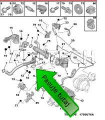 538 egr blanking block off plate gaskets volvo ford 2 0 tdci 16v v70 2 0 16v 136 hp engine code d 4204 t