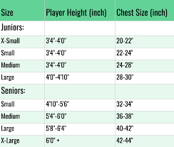 Bauer Hockey Gloves Size Chart How To Size Hockey Goalie Pads