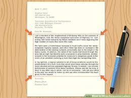 Persuasive Memo Examples How To Write Persuasive Letters With Sample Letters Wikihow