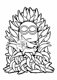 Small Picture Banana Coloring Page Printable Coloring Pages Page Three Cartoon