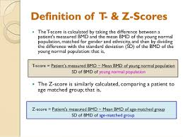 Bmd Z Score Chart Bone Densitometry A Clinical Aspect