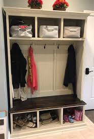 Entryway Bench With Storage And Coat Rack Best Coat Rack With Storageentryway Furnitureorganizationshoe Storage
