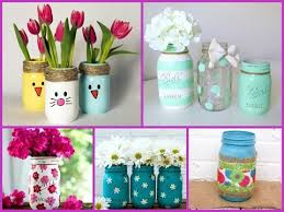 Diy Decorative Mason Jars 100 DIY Mason Jar Crafts Ideas Easy Spring and Summer Decor YouTube 2