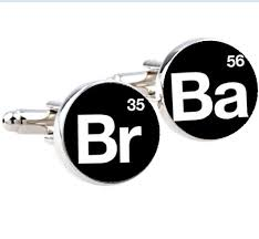 40Pair Breaking Bad Cufflinks Silver Plated Br Ba Cuff Links Classy Ba Quote