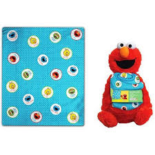 Elmo Blanket Polar Fleece Throw