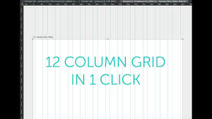 Responsive Web Design Grid Photoshop How To Make A Bootstrap Grid Psd Column Guide In Photoshop Cc 2015 Tutorial Part 20 48