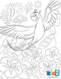 Small Picture Free Rio 2 Coloring Pages