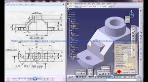 Catia Aircraft Design Tutorial Pdf Catia V5 Tutorial How To Read Create 3d Models From 2d Drawings P3 Improve 2d Drawing Read Skill