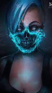 Ghost Girl iPhone Wallpaper
