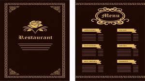 Menu Design Templates 003 Template Ideas Restaurant Menu Freepik Design Templates