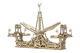 """<b>Деревянный 3D конструктор</b> """"Пешеходный мост"""" Материал ..."""