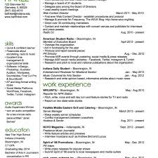 Old Fashioned Best Tv Reporter Resume Image Collection Resume