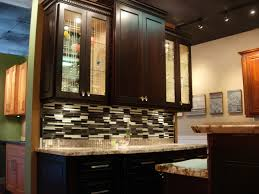 Expresso Kitchen Cabinets Dark Espresso Stained Maple Stained Kitchen Cabinets Pinterest