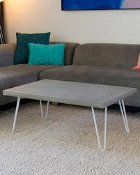 latest craze european outdoor furniture cement. Concrete Coffee Table - Hairpin Legs By Studio FIveo3 Latest Craze European Outdoor Furniture Cement