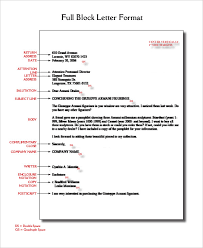 Block Letter Template Word On Business Letter Format Template With