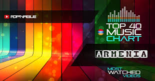 Top 40 Music Charts From Armenia Popnable