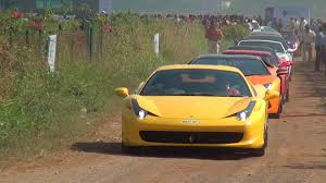 Mega Parx Supercars Show Rally In Mumbai India Super