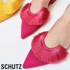 Schutz Shoes Size Chart Schutz Shoes Nwot Schutz Brenle Flat Mule Aurora Pink