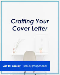 Crafting A Cover Letter Crafting Your Cover Letter Craft