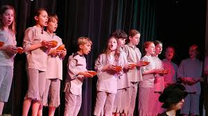 Salesian Theatre Kids Sing for Supper....and Anything Goes!