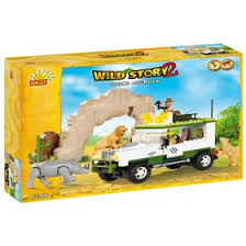 <b>Конструктор Cobi</b> Wild Story 22360 Safari Off-Road (2452270 ...