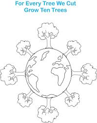 Earth Day Printable Coloring Pages Dapmalaysiainfo
