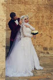 arabian wedding dress. Latest White Lace Long Sleeve Arabic Bridal Dresses Formal Sweep