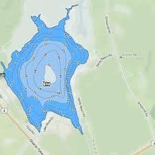 Tyler Lake Fishing Map Us_ct_2985 Nautical Charts App