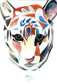 Tiger Tattoo 001jpg Painting By Katia Luján Artmajeur
