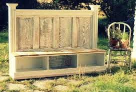 furniture made out of doors. Bench Made From Old Doors Furniture Out Of