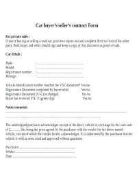 Purchase Agreement Vehicle Refinery Purchase And Sale Agreement Sample Car Form Vehicle