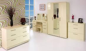 knightsbridge black white gloss finish bedroom furniture