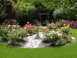 Simple Design Ideas Rose Garden Plans