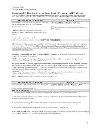 transition plan examples iep transition plan template