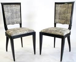 193039s french art deco leleu dining chairs set 6 omero home