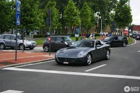 The 612 was a replacement for the 456 m, as the 612 has a larger size, the 612 is a true four seater. Ferrari 612 Scaglietti 17 August 2012 Autogespot