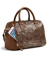 love this product downtown dots marlo leather satchel