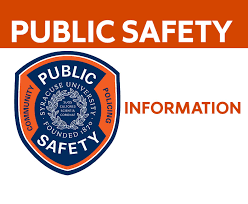 Home Department Of Public Safety Syracuse University