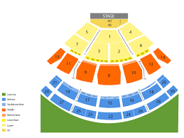 Saratoga Performing Arts Center Seating Chart With Seat