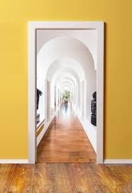 7 Wallpaper door ideas