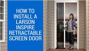 larson retractable screen door. Larson Retractable Screen Door O