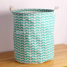 Nice design folded laundry basket with two handles ,easy cleaning
