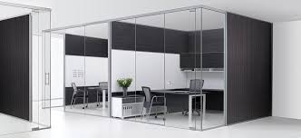 glass walls for office interiors designs