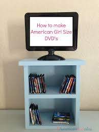 american girl furniture ideas. american girl dvds tv is a picture frame bought at michaels furniture ideas r