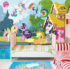 walplus wall stickers my little pony mural art decals vinyl home for my