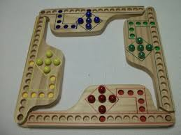 Wooden Board Game With Pegs Jokers and Marbles Pegs 100 Player game in by GeorgenesWoodworking 46